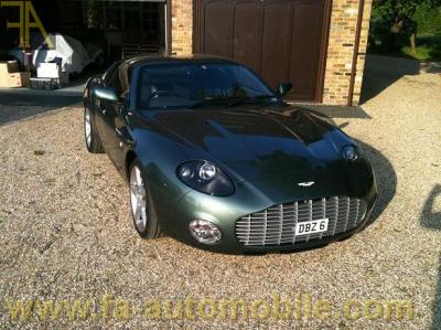 Aston Martin V8 Virage Vantage Volante Zagato For Sale Fa Automobile Com