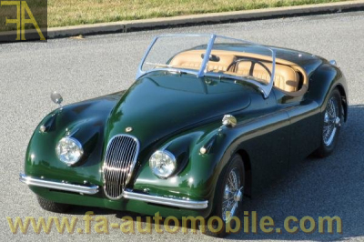 jaguar xk 120 coupe - roadster para la venta fa-automobile