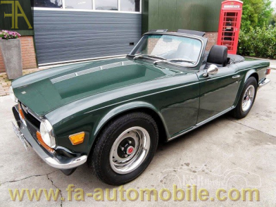 Triumph Tr6 For Sale Fa Automobilecom